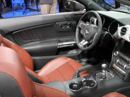 mustang inside the ford mustang s interior is business insider