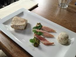cuisine fust a delightful fois gras and sweetbread appetizer picture of t