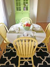How To Refinish Kitchen Chairs How To Transform An Old Tile Table Tutorial