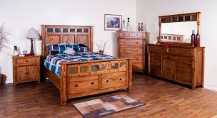 Bed Furniture With Drawers Rustic Chest With Hideaway Drawer By Sunny Designs Wolf And