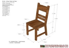 Outdoor Wooden Chair Plans Marvelous Dining Room Chairs Plans On Home Decoration Ideas With