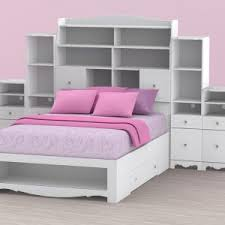 Bookcase Bed Full King Bookcase Headboard Headboards For Queen Beds Andrea Outloud
