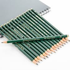 high quality 16pcs sketch and drawing pencil set professional fine