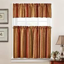 Lime Green Striped Curtains Striped Valances U0026 Kitchen Curtains You U0027ll Love Wayfair
