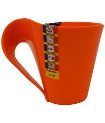 buy coffee mugs online india vivo plastic coffee mug 6 pcs 250 ml ml buy online at best price