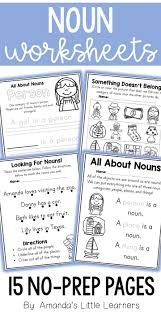 Noun Worksheet Kindergarten Best 20 Nouns Worksheet Ideas On Pinterest Noun Activities
