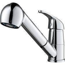 robinet pour cuisine mitigeur de cuisine avec douchette chromé nerea ii leroy merlin