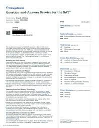 Sample Gre Score Report I Got A Perfect Score On The New Sat Score Report Attached