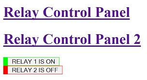 ethernet enc28j60 4 relay modules simple sketch simple