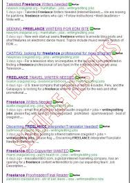 jobs for freelance writers and editors search for all freelance writing jobs at craigslist org online