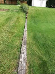 outdoor my timber retaining wall is tipping over home