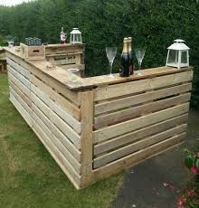 rustic bar for indoor or conservatory xmas parties or outside