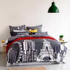 london paris themed comforter on the hunt