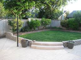 Backyard Easy Landscaping Ideas Backyard Ideas On A Budget Yard Pictures Curb Appeal Rock