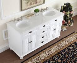 adelina 60 inch antique white double sink bathroom vanity marble