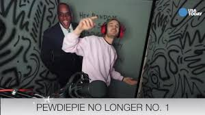 pewdiepie house pewdiepie no longer no 1 on youtube