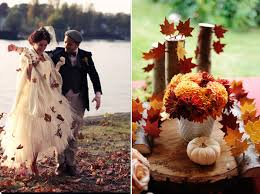 fall wedding how are you going to plan your fall wedding theme tulle