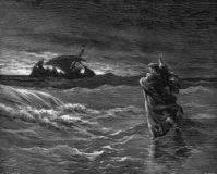 jesus walks water john 6 15 21 bible study commentary
