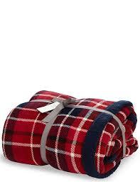 Tartan Tartan Checked Fleece Throw M U0026s