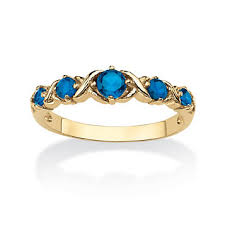 birthstone stackable rings for haband birthstone x o stack ring
