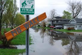 clayton ny lake ontario flooding week of rain could boost flooding wbfo