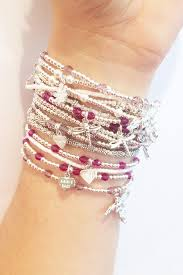 stacking bracelets 31 best how to wear haak images on gold