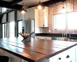 kitchen island reclaimed wood kitchen island tops folrana wood top 29 verdesmoke barn