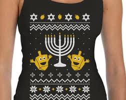 hanukkah vest sweater etsy