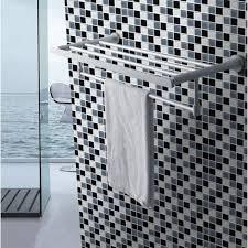 Grey Mosaic Bathroom Black Grey Glitter Silver Glass Wall Border Splashback Mosaic