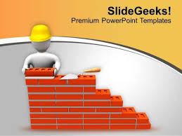 build the wall of fame powerpoint templates ppt backgrounds for