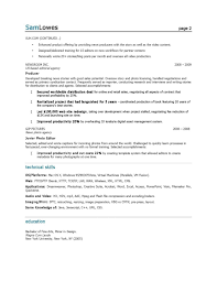 entry level marketing resume example essaymafia com executive