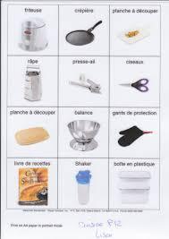 vocabulaire de la cuisine accessoire cuisine accessoires de cuisine