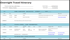 Organizing executive travel itineraries rachael ellison