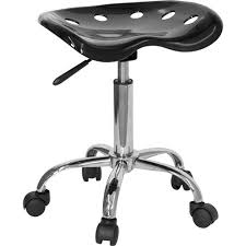 Tractor Seat Bar Stool Adjustable Height Task Stool With Tractor Seat Multiple Colors