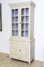 Swedish Painted Furniture 19th Century Period Antique Swedish Painted Gustavian Cabinet At