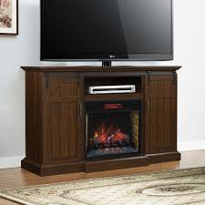 manning infrared electric fireplace entertainment center in