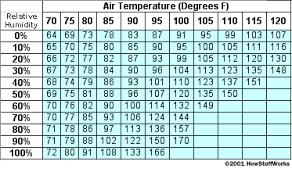 Comfortable Indoor Temperature Relative Humidity How Humidifiers Work Howstuffworks