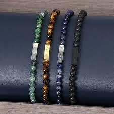 stone beaded bracelet images Green stone bead bracelet jpg