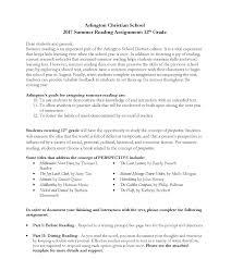 summer writing paper template high school summer 2017 reading program arlington christian arlington christian school summer reading program 9 12 2017 taylor page 13