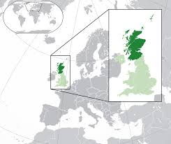 Map Of Us And Europe by File Scotland In The Uk And Europe Svg Wikimedia Commons