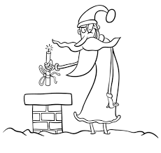 evil santa coloring free printable coloring pages