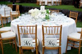 Bride And Groom Chair Signs Bride And Groom U201d Sign Wooden Wedding Chair Ideas U2013 Weddceremony Com