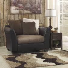 Ashley Furniture Accent Chairs Ashley Furniture Masoli Accent Chair And A Half In Cobblestone