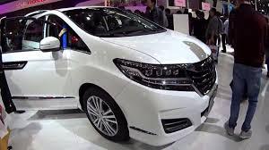 Honda Odyssey Interior 2017 Honda Odyssey White Release Launch Show U2013 Auto Otaku