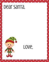 template for santa letter free dear santa printable set dear santa letter printable free