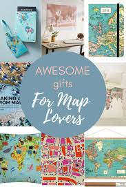 map themed gift guide for the map lover pillar box blue