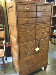 Antique Wood File Cabinet by Phoenix West Antiques Classifieds Brass Armadillo Antique Mall