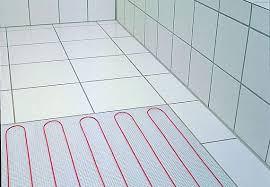 fuãÿbodenheizung badezimmer überblick fußbodenheizungen obi ratgeber
