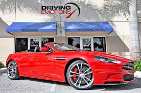 aston martin showroom 2012 aston martin dbs volante dbs volante stock 5847 for sale