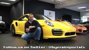 Porsche 911 Yellow - 2015 porsche 911 turbo s coupe for sale columbus ohio youtube